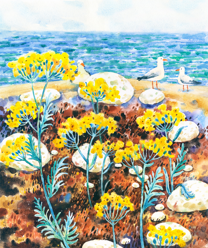 Flori-galbene-Poster